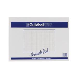 GUILDHALL ACC PAD CASH 11.8X16 GP14