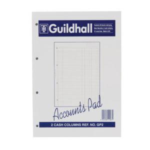 GUILDHALL ACC PAD CASH 11.8X8 GP2