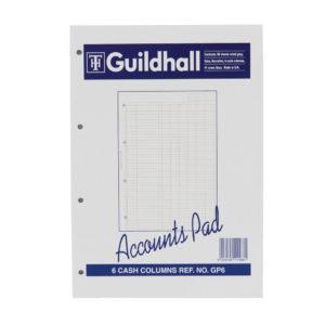 GUILDHALL ACC PAD CASH 11.8X8 GP6