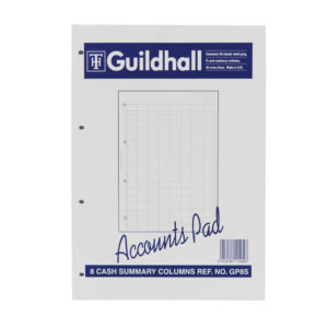 GUILDHALL ACC PAD SUMMARY 11.8X8 GP8S