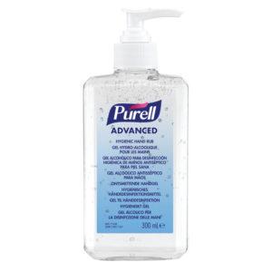 Purell ADVANCED Hand Sanitising Rub 300ml x 1