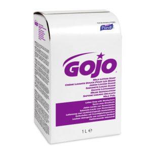 GOJO Mild Lotion Soap, Fragrance & Dye Free, NXT-1000ml x 1.