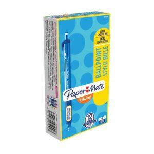INKJOY 300 MEDIUM BLUE PK12