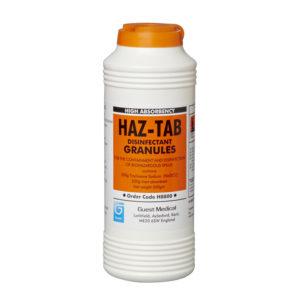 Biohazard Spills Absorbent Granuals - Haz-Tab 500g.
