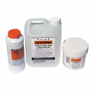 Haz-Tabs Diluter for 10 000ppm (4.5g) Chlorine Solution