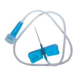 Abbott Butterfly Needle Infusion Set-23G (Blue), 19mm x 50