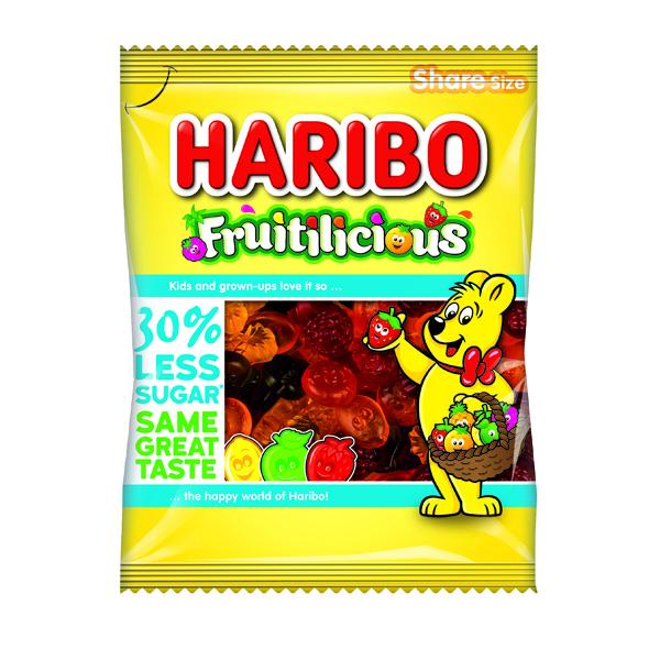 HARIBO FRUITILICIOUS BAG 140G PK12