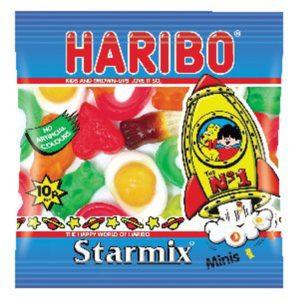 HARIBO STARMIX SMALL BAG PK100