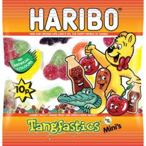 HARIBO TANGFASTICS SMALL BAG PK100