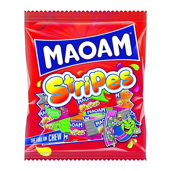 MAOAM STRIPES SHARE BAG 140G PK12