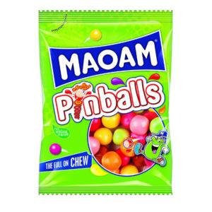 MAOAM PINBALLS SHARE BAG 140G PK12