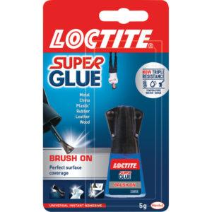 LOCTITE SUPER GLUE BRUSHON 5G 3FOR2