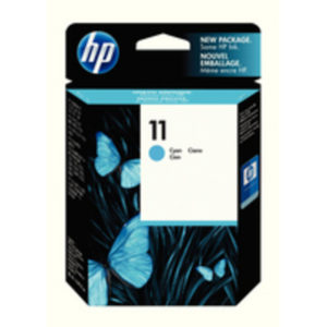 HP 11 INKJET CART CYAN C4836AE