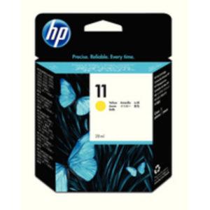 HP 11 INKJET CART YELLOW C4838A