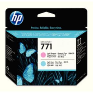 HP 771 DJET PH LT MAG/LT CYN CE019A