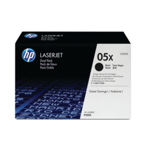 HP 05X HY BLK ORGL LASERJET TONER CART