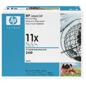 HP 11X HY BLK ORGL LASERJET TONER CART