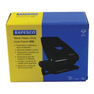 RAPESCO 835 H/DUTY 2HOLE PERFORATOR BLK