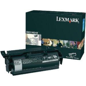 LEXMARK X651 RP BLACK TONER