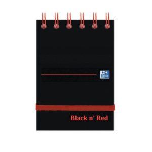 BLACK N RED A7 NOTEBOOK