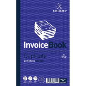 CHALLENGE DUP BOOK 210X127 INVOICE 6710