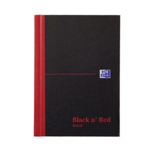 BLK N RED MANUBK A6 FT 100080429