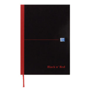 BLACK N RED A5 BOOK RECYCL 100080430