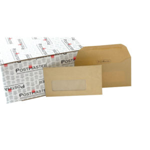 POSTMASTER ENV WDW 114X235MM MAN PK500
