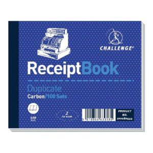 CHALLENGE DUPLICATE BOOK RECEIPT 105X130