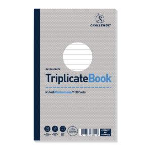 CHALLENGE CARBONLESS TRIP BOOK 210X130MM