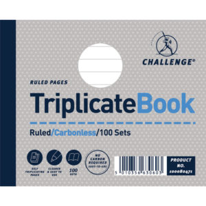 CHALLENGE CARBONLESS TRIP BOOK 105X130MM