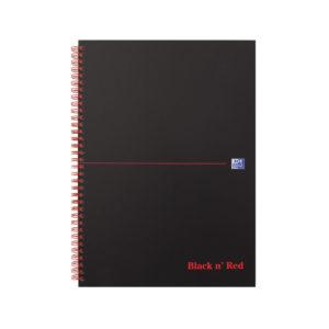 BLKRED A4 MATT WIRO NOTEBK 846354905