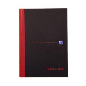 BLK N RED MANUBK A5 IDXED 100080491