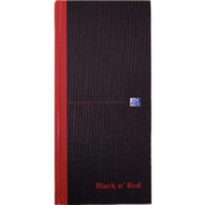 BLK N RED MANUBK 297X140MM FT 100080528