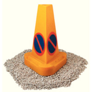 CONE NO WAITING WEIGHTED YELLOW 398434