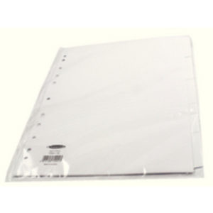 CONCORD DIVIDER A4 5PART WHITE 79901/99