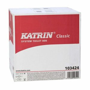 Katrin Classic Toilet System Roll 800 Eco x 36 White 2ply.