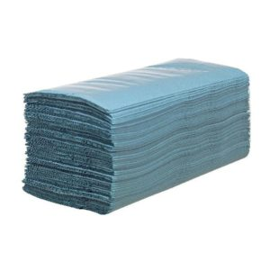 HOSTESS HAND TOWEL BLUE 6876 PK12