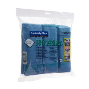 WYPALL MICROFIBRE CLOTHS BLUE 8395 PK6