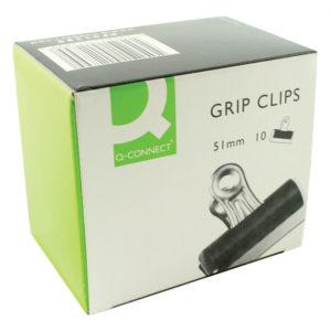 Q CONNECT GRIP CLIP 51MM PK10