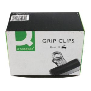 Q CONNECT GRIP CLIP 75MM PK10