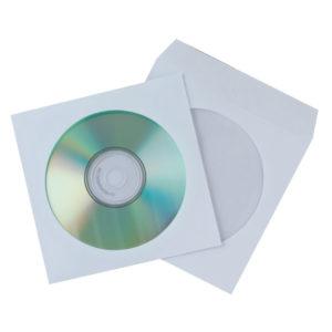 Q CONNECT CD ENVELOPES PAPER PK50