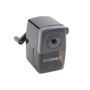 Q CONNECT DESKTOP PENCIL SHARPNER BLACK