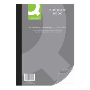 Q CONNECT DUPLICATE BOOK A4