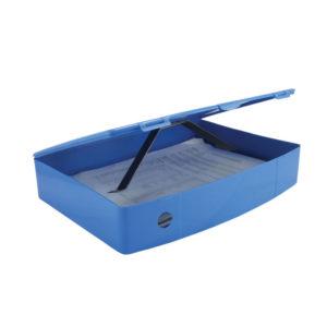 Q CONNECT BOXFILE POLYPROPYLENE BLUE