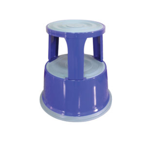 Q-CONNECT METAL STEP STOOL BLUE KF04847