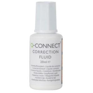 Q CONNECT CORRECTION FLUID 20ML