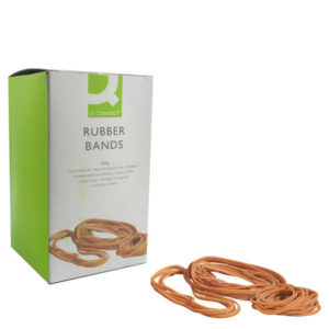 Q CONNECT RUBBER BANDS 500G NO 89