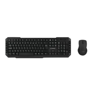 QCONNECT WIRELESS KEYBOARD/MOUSE BLK