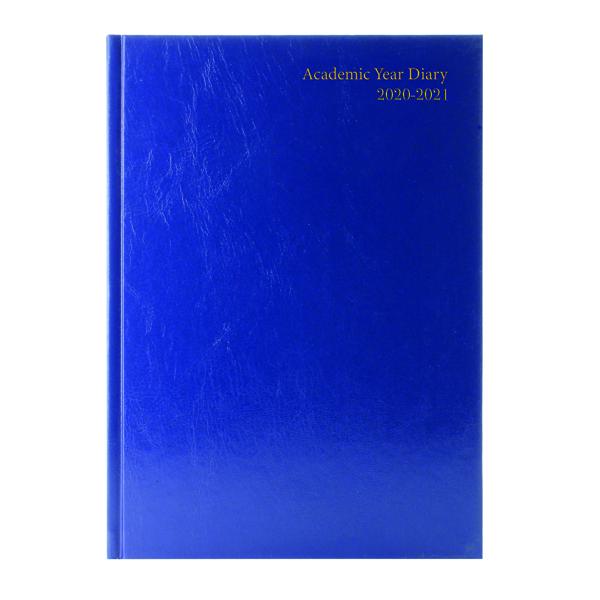 ACADEMIC DIARY DPP A5 BLUE 2020-21